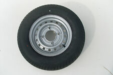 "165 R13 8 PLY TRAILER WHEEL AND TYRE 5.5"" PCD"