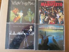 [CD] ROXY MUSIC - Lot de  4CD - VIVA! - Avalon - Manifesto - For your Pleasure