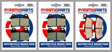 KTM 1190 Adventure 2013 Front & Rear Brake Pads Full Set (3 Pairs)