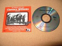 The Complete Clarence Williams Sessions 1923 -1931 cd 1994 Ex / Nr Mint