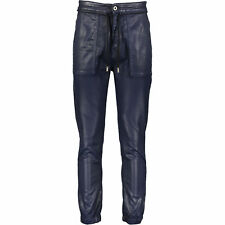 69% OFF DIESEL BLACK GOLD Leather Look Pants W32 Waxed Coated Jeans RRP £295