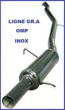 LIGNE ECHAPPEMENT GROUPE A OMP CITROEN SAXO 1.6 16s VTS >2001 EN INOX