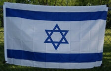 3x5 ft Israel Country Flag Nation of Israel Print Polyester Flag Header Grommets