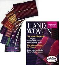 Handwoven magazine sept//oct 1998 shadowweave overshot