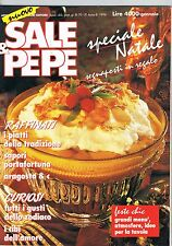 SALE & PEPE - N.1 - 1994 - PIATTI TRADIZIONALI - NATALE CENA DI MAGRO - ZODIACO