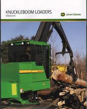 John Deere Logging Timber Forestry Knuckleboom Loaders Brochure Leaflet