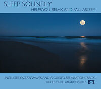 Sleep Soundly CD - Helps You Relax, Fall Asleep and Stay Asleep - NEW