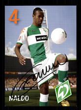 Naldo Autogrammkarte Werder Bremen 2006-07 Original + A 135295