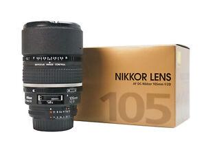 Nikon AF DC-Nikkor 105mm f/2 D Lens