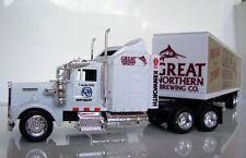 KENWORTH W900 Semi Truck Diecast 1:43 Scale Great Northern Brew Custom Graphics