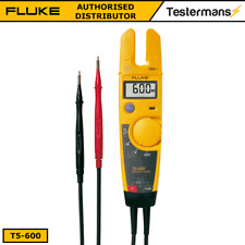 Fluke T5-600 Voltage Continuity Current Tester + 2 Year Fluke Warranty