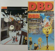 Franquin DBD n 1 Dossier spécial collector TBE