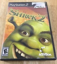 Shrek 2 (Sony PlayStation 2, 2004) Ps2 Game Tested