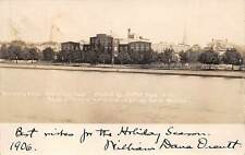 CAMBRIDGE, MA ~ UNIV. PRESS PRINTING CO. ~ Wm. Dana Orcutt autograph  RPPC 1906.