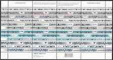 Canada Stamps -Full Pane of 16 -Urban Transit/Light Rail #2028-2031 -MNH