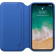 Genuine Leather Folio Flip Wallet Case Cover For Apple iPhone 11 10 X 8 7 6 Plus