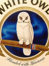 VINTAGE WHITE OWL INVINCIBLE CIGAR BOX #160 WITH INTERNAL REVENUE STAMP - EMPTY