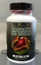 Yerbas Finas Castano de Indias 90 Cap/ 700mg Mejora circulation de sangre