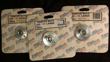 United Abrasives Center Nuts 5/8 -(2) 11 Large & (1)  Small