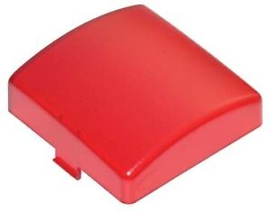 Red Interior dome light lens to Suit Kenworth/Freightliner/Peterbuilt