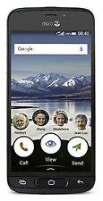 Doro 8040 4g Sim- Mobile Phone - Black