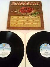 BREAD & ROSES / FESTIVAL OF ACOUSTIC MUSIC 2X LP UK DAVE VAN RONK ARLO NEWBURY