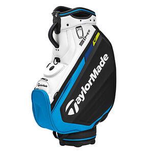 NEW 2021 TaylorMade Sim2 Black/Blue/Lime Neon Tour Staff Golf Bag