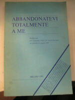 LIBRO: ABBANDONATEVI TOTALMENTE A ME- VLASIC BARBARIC- 1985.
