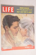Life 1960 Women Bowlers Gold Haworth Mineo Exodus Kodak Planters Peanuts M04
