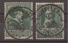 Belgium - 1930 - COB 299/300 - Scott 216/7 - Used -