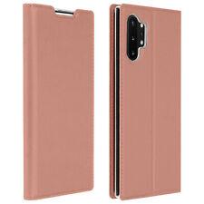 Funda Samsung Galaxy Note 10 Plus cierre magnético y F. Soporte - Oro rosa