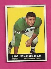 1961 TOPPS # 100 EAGLES JIM MCCUSKER ROOKIE  EX-MT CARD (INV# C0487)