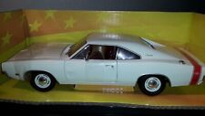 1:18 Dodge Charger R/T 1969 weiß Ertl American Muscle NEU LIMITED EDITION
