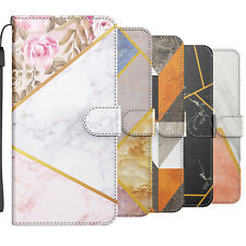 Marble Leather Wallet Book Cover Flip Phone Case For iPhone 12 11 Pro Max X 8 7