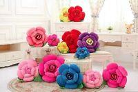 Rose Cushion Flower Shape Pillows Throw Lumbar Wedding Gift Bed Lover Soft Home