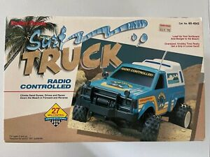 Radio Shack Vintage Surf Truck RC Car w/Original Box Manual Controller 60-4043