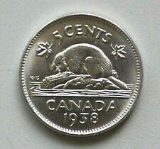 1938 Canada 5 Cent