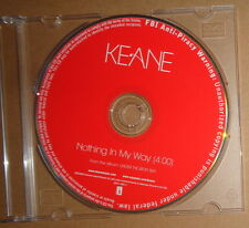 Keane ‎– Nothing In My Way CD, Single 2006 Interscope Records ‎– INTR 11965-2
