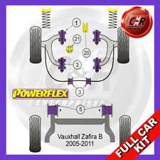 Opel Zafira B (05-11) Not 2.0T Powerflex Complete Bush Kit