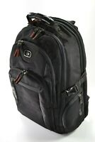 """OGIO Urban Black Backpack with Padded 17"""" Lap Top Travel Compartments"""
