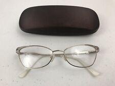9c7733a036 Women s Tura Eyewear R614 Metal Frame GoldWhite 53-17-140
