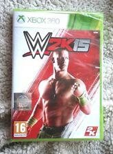 XBOX 360 GAME: W2K15. TEXTOS & MANUAL CASTELLANO! PAL NUEVO, BRAND NEW & SEALED!