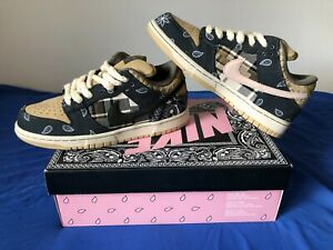 Nike SB Dunk Low x Travis Scott SPECIAL BOX- Size 9.5