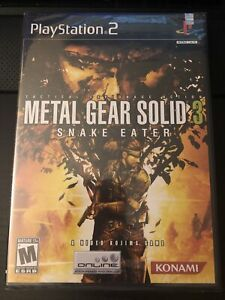 Metal Gear Solid 3 Snake Eater - PS2 - New Sealed - Shipping Today