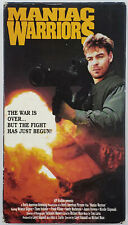 MANIAC WARRIORS 1988 used VHS Post Apocalyptic Cult Film aka EMPIRE OF ASH