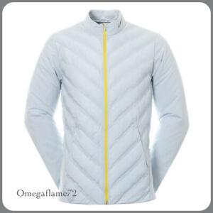 Nike Golf Hyperadapt Aeroloft Repel Jacket, CD8953-043, Sz Large, Pure Platinum
