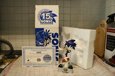 Sonic the Hedgehog estatua 15th Anniversary como nuevo Sega