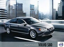 2010 Volvo S80 50-page Original Car Sales Brochure Catalog - V8 T6 AWD