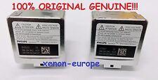 2pcs 2x D3S Philips Xenon Bulbs Original Genuine Pair HID