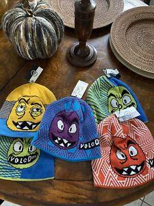 volcom youth hats Set Of 5